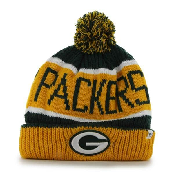 Green Bay Packers Calgary Cuff Knit Dark Green 47 Brand Hat