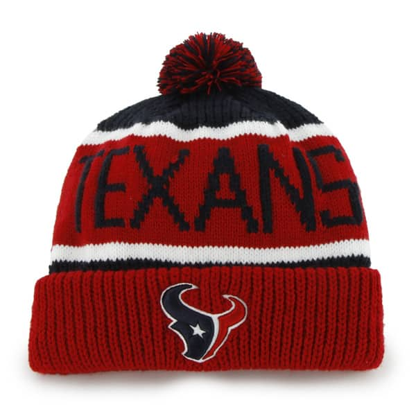 Houston Texans Calgary Cuff Knit Navy 47 Brand Hat