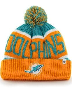 Miami Dolphins Calgary Cuff Knit Neptune 47 Brand Hat