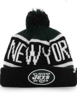 New York Jets Calgary Cuff Knit Dark Green 47 Brand Hat