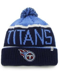 Tennessee Titans Calgary Cuff Knit Periwinkle 47 Brand Hat