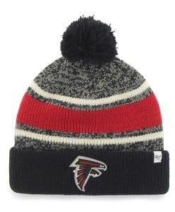 Atlanta Falcons Fairfax Cuff Knit Black 47 Brand Hat