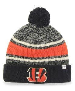 Cincinnati Bengals Fairfax Cuff Knit Black 47 Brand Hat