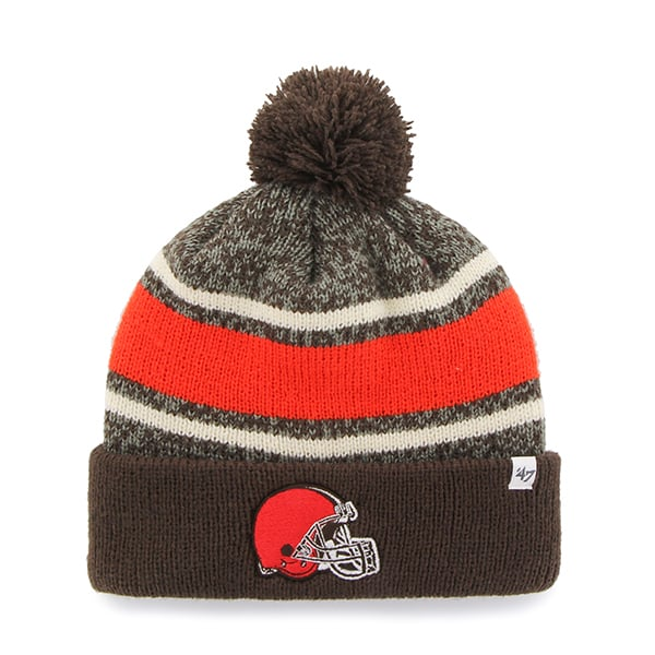 Cleveland Browns Fairfax Cuff Knit Brown 47 Brand Hat