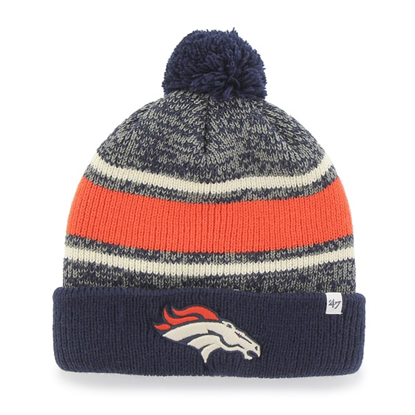 Denver Broncos Fairfax Cuff Knit Light Navy 47 Brand Hat