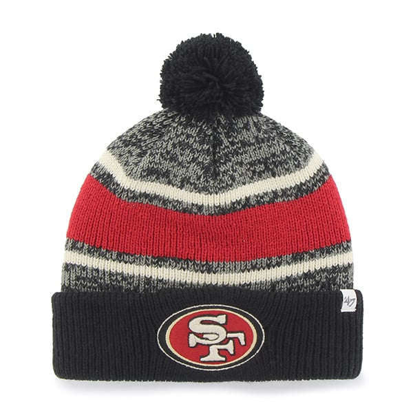 San Francisco 49Ers Fairfax Cuff Knit Black 47 Brand Hat