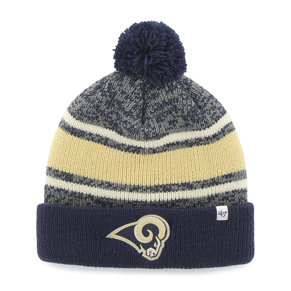 Los Angeles Rams Fairfax Cuff Knit Light Navy 47 Brand Hat