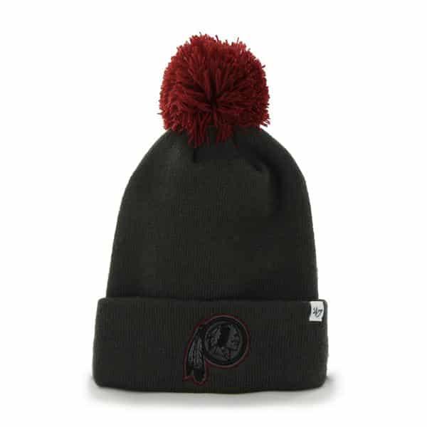 Washington Redskins Justus Cuff Knit Charcoal 47 Brand Hat