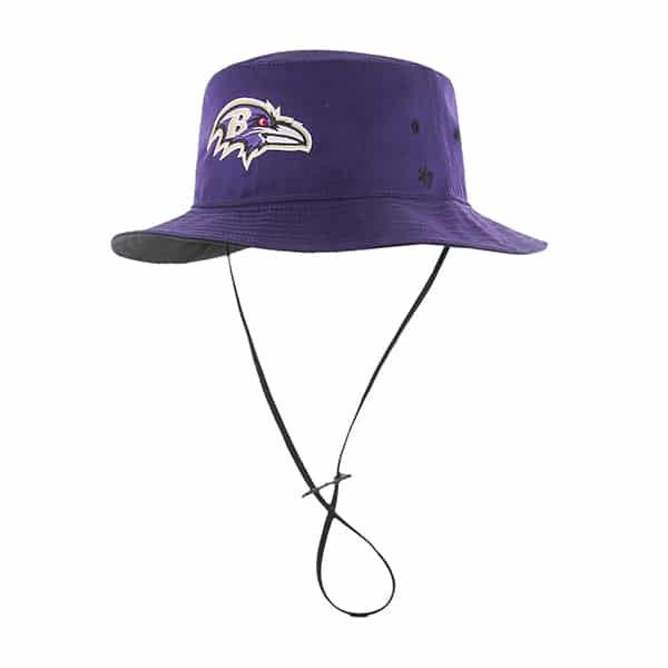Baltimore Ravens Kirby Bucket Purple 47 Brand Hat