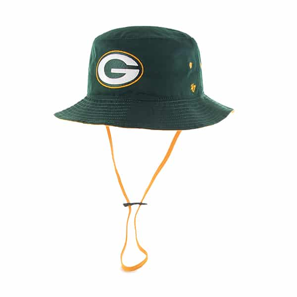 Green Bay Packers Kirby Bucket Dark Green 47 Brand Hat