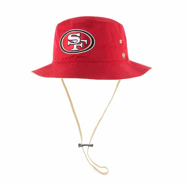 San Francisco 49Ers Kirby Bucket Red 47 Brand Hat