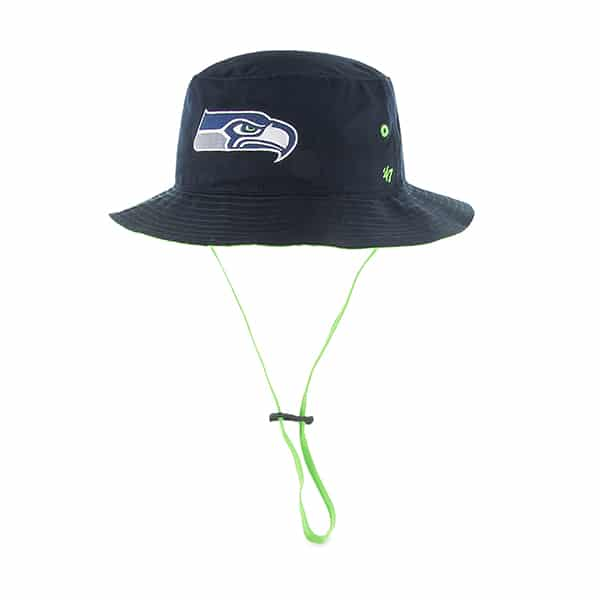 Seattle Seahawks Kirby Bucket Navy 47 Brand Hat