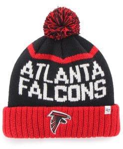 Atlanta Falcons Linesman Cuff Knit Black 47 Brand Hat