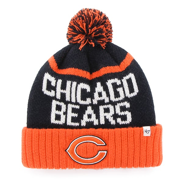 Chicago Bears Linesman Cuff Knit Navy 47 Brand Hat