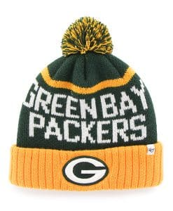 Green Bay Packers Linesman Cuff Knit Dark Green 47 Brand Hat