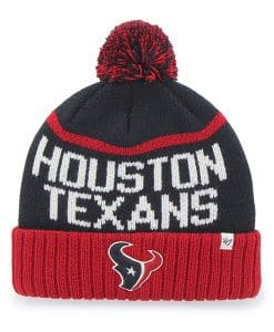Houston Texans Linesman Cuff Knit Navy 47 Brand Hat