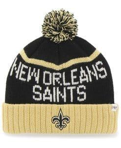 New Orleans Saints Linesman Cuff Knit Black 47 Brand Hat