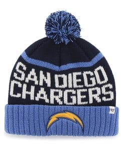 San Diego Chargers Linesman Cuff Knit Light Navy 47 Brand Hat