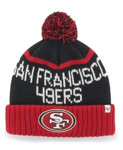 San Francisco 49Ers Linesman Cuff Knit Black 47 Brand Hat
