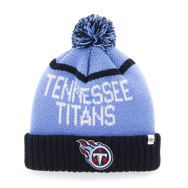 Tennessee Titans Linesman Cuff Knit Periwinkle 47 Brand Hat