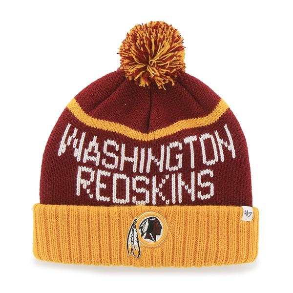Washington Redskins Linesman Cuff Knit Razor Red 47 Brand Hat