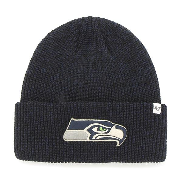 Seattle Seahawks Lancaster Cuff Knit Light Navy 47 Brand Hat