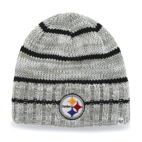 Pittsburgh Steelers Mcmahon Beanie Gray 47 Brand Hat