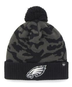 Philadelphia Eagles M Twenty Nine Cuff Knit Charcoal 47 Brand Hat