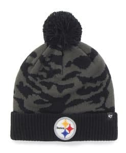 Pittsburgh Steelers M Twenty Nine Cuff Knit Charcoal 47 Brand Hat