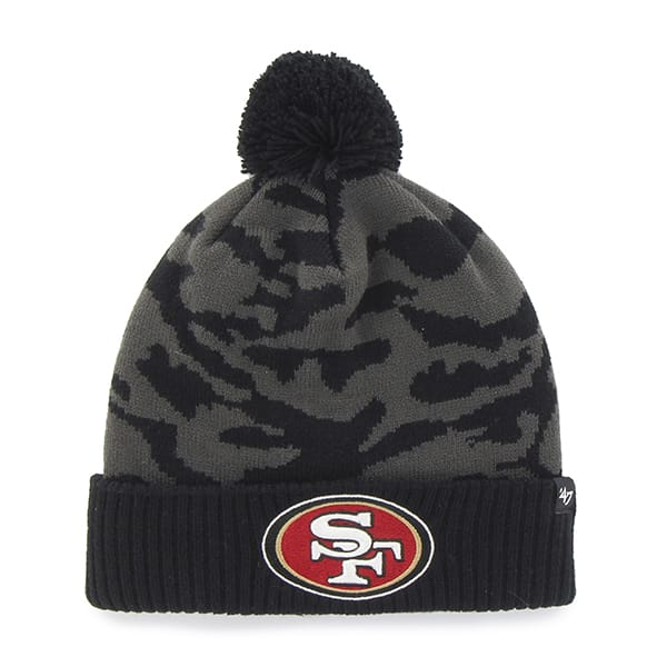 San Francisco 49Ers M Twenty Nine Cuff Knit Charcoal 47 Brand Hat