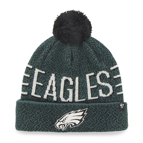 Philadelphia Eagles Mezzo Cuff Knit Pacific Green 47 Brand Hat
