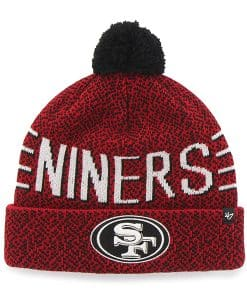 San Francisco 49Ers Mezzo Cuff Knit Red 47 Brand Hat