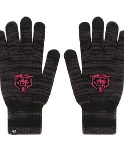 Chicago Bears Women's 47 Brand Charcoal Northmont Gloves