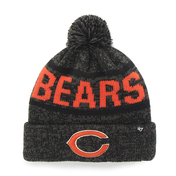 Chicago Bears Northmont Cuff Knit Charcoal 47 Brand Hat