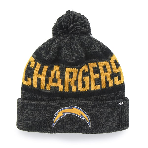 San Diego Chargers Northmont Cuff Knit Charcoal 47 Brand Hat