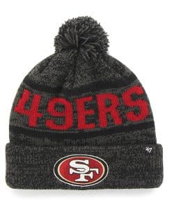 San Francisco 49Ers Northmont Cuff Knit Charcoal 47 Brand Hat