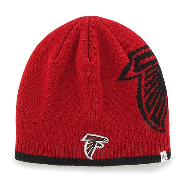 Atlanta Falcons Peaks Beanie Red 47 Brand Hat