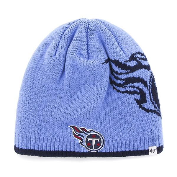 Tennessee Titans Peaks Beanie Periwinkle 47 Brand Hat