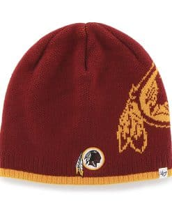 Washington Redskins Peaks Beanie Razor Red 47 Brand Hat
