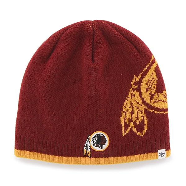 Washington Redskins Peaks Beanie Razor Red 47 Brand Hat