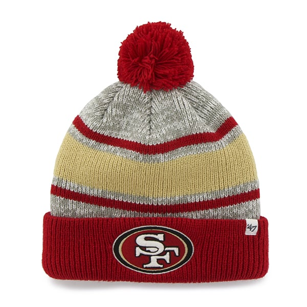 San Francisco 49Ers Palmer Cuff Knit Gray 47 Brand Hat