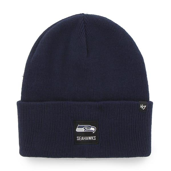 Seattle Seahawks Portbury Cuff Knit Light Navy 47 Brand Hat