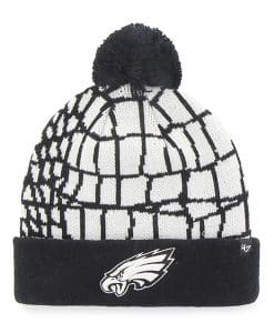 Philadelphia Eagles Quinkana Cuff Knit White 47 Brand Hat