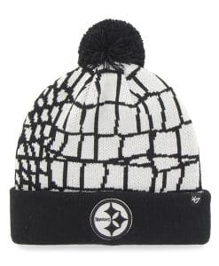 Pittsburgh Steelers Quinkana Cuff Knit White 47 Brand Hat