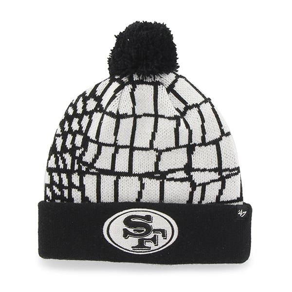 San Francisco 49Ers Quinkana Cuff Knit White 47 Brand Hat