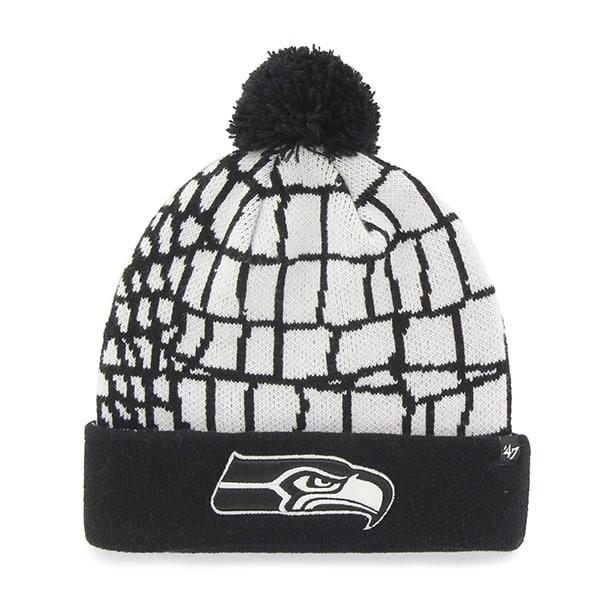 Seattle Seahawks Quinkana Cuff Knit White 47 Brand Hat