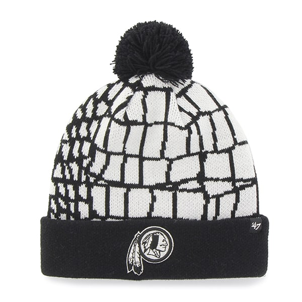 Washington Redskins Quinkana Cuff Knit White 47 Brand Hat