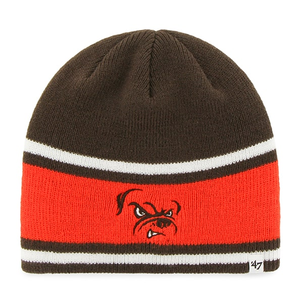 Cleveland Browns Quincy Beanie Brown 47 Brand Hat