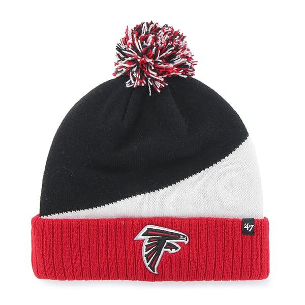 Atlanta Falcons Rockhead Cuff Knit Black 47 Brand Hat