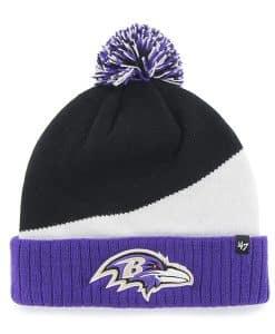 Baltimore Ravens Rockhead Cuff Knit Black 47 Brand Hat